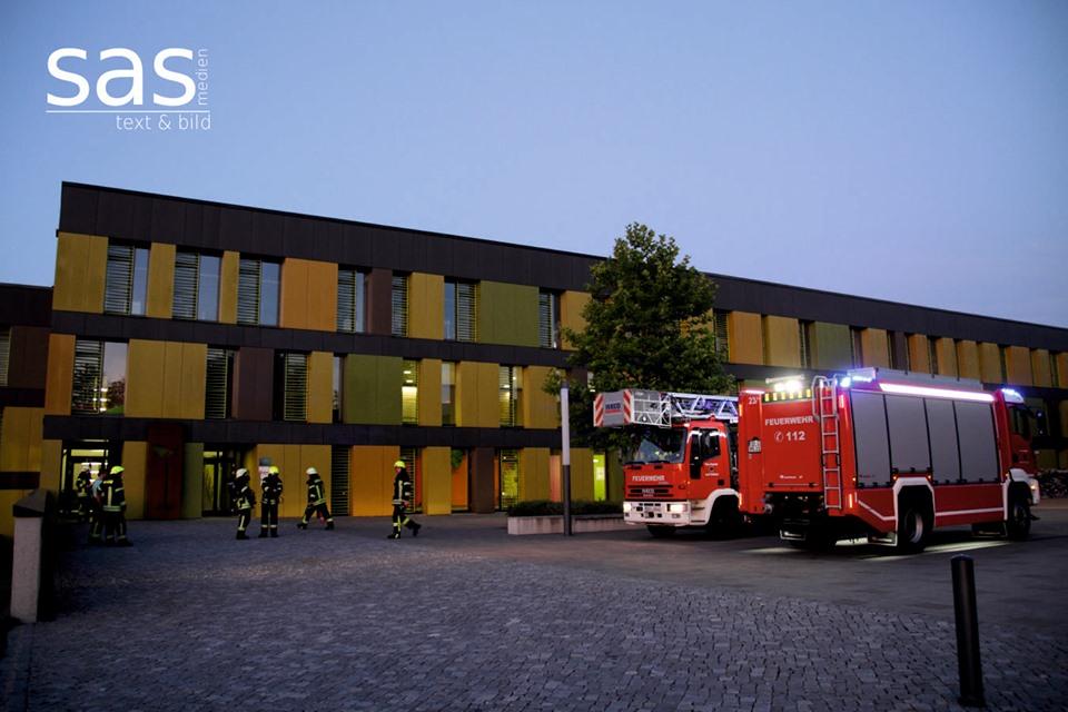 Feuerwehreinsatz in der Realschule