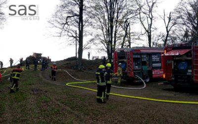 Waldbrand am Büchelstein