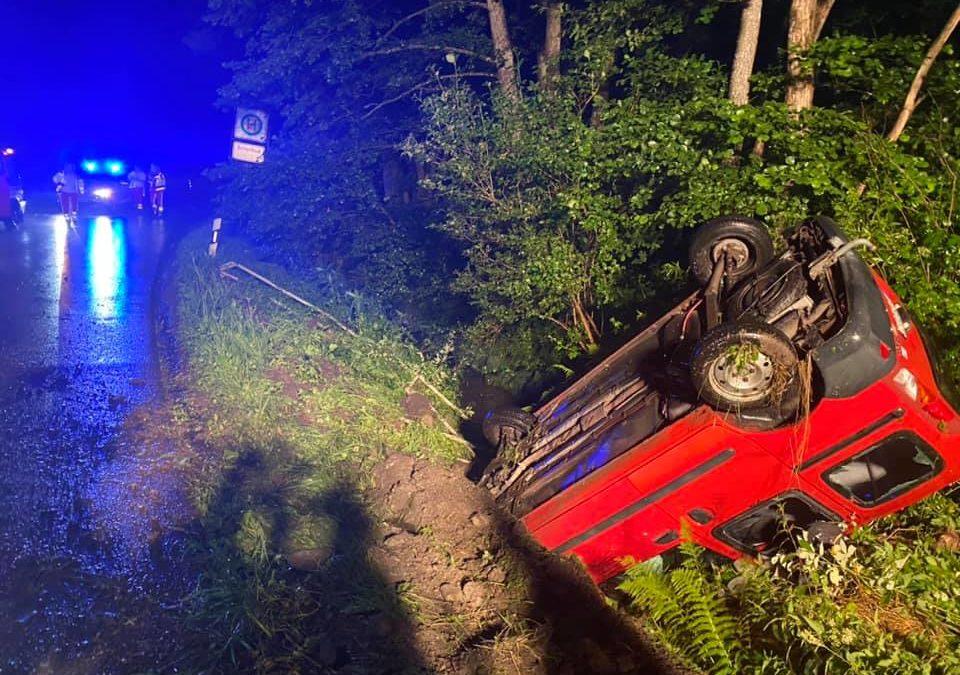 Verkehrsunfall in Poppenberg